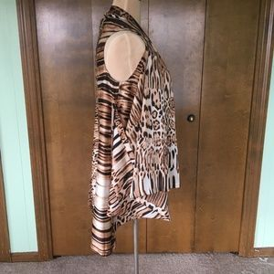 Antthony Jackets & Coats - Antthony Multiwear Animal Print Vest